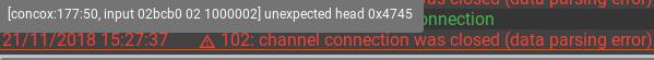 parsing error