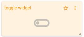 mqtt tiles toggle widget
