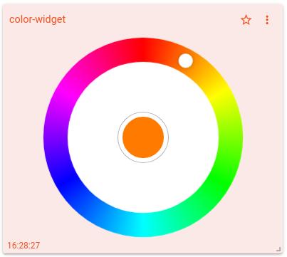 mqtt tiles iframe widget simple mode