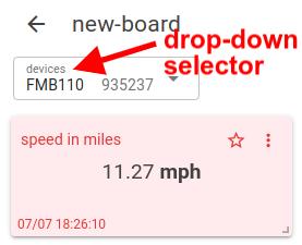 mqtt tiles widget result