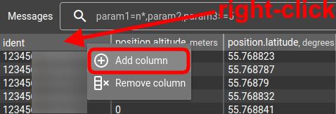 flespi toolbox add column