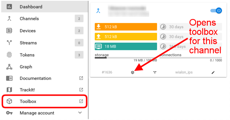 flespi toolbox login options