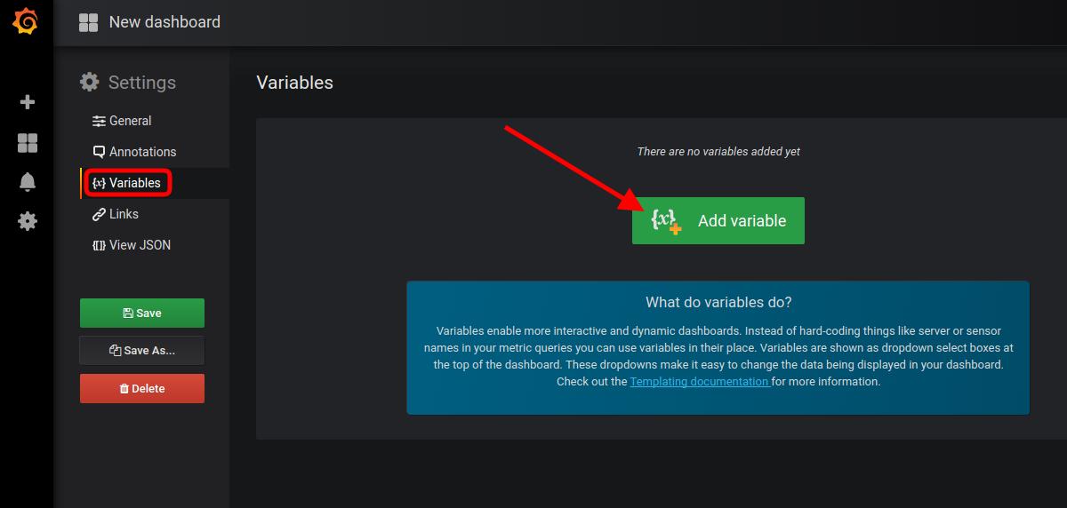 start adding variables
