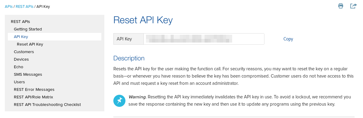copy jasper api key