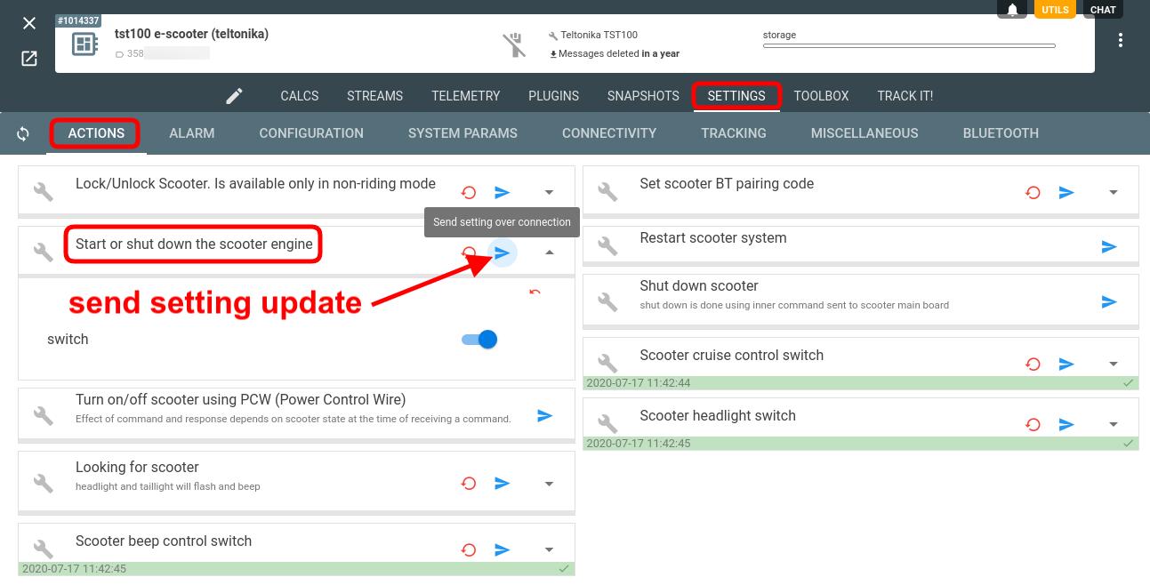 flespi send setting update