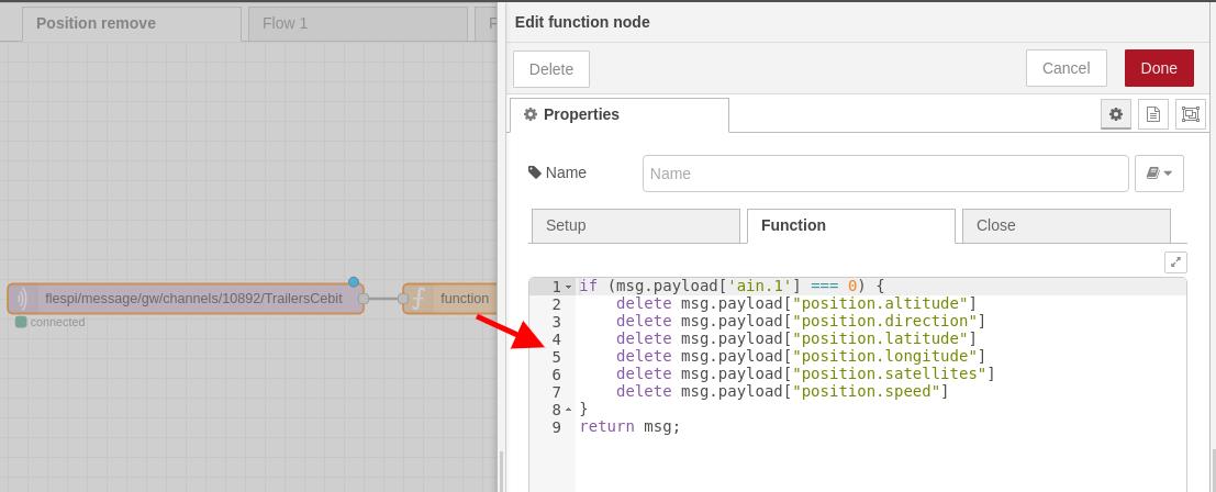 node-red function node config