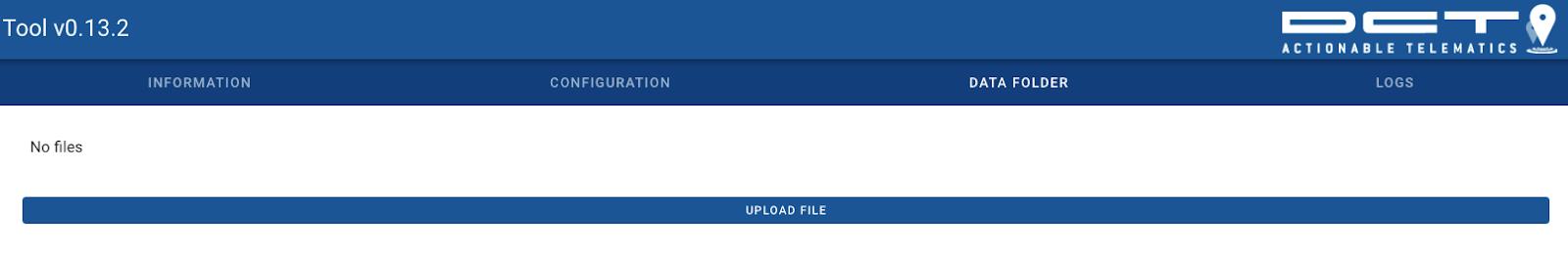 syrus 4 management tool upload file