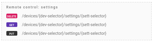 flespi devices settings